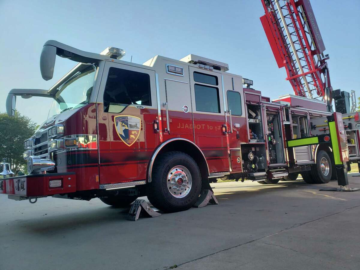 Tomball Fire Department unveiled a new fire truck that was scheduled to begin service Sept. 27, 2019.