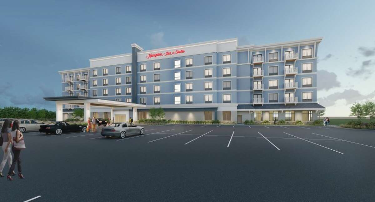 The planned unit application for the Hampton Inn hotel near First Street Beach in Manistee has passed the city's legal review.