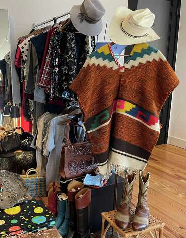 Pronghorn in Marfa offers vintage finds, as well as unusual décor for the home. Photo: Melissa Aguilar/Houston Chronicle