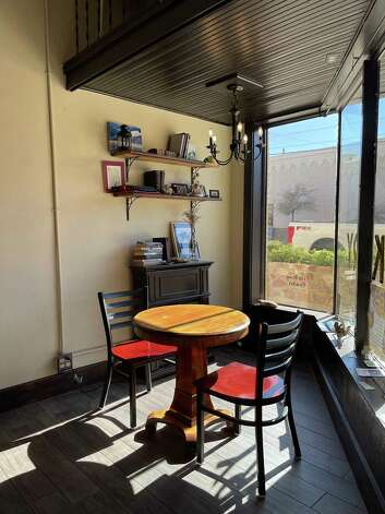 French pastries, wine and cheese are the specialties at Taste and See Bakery and gallery in Alpine, Texas. Photo: Melissa Aguilar/Houston Chronicle