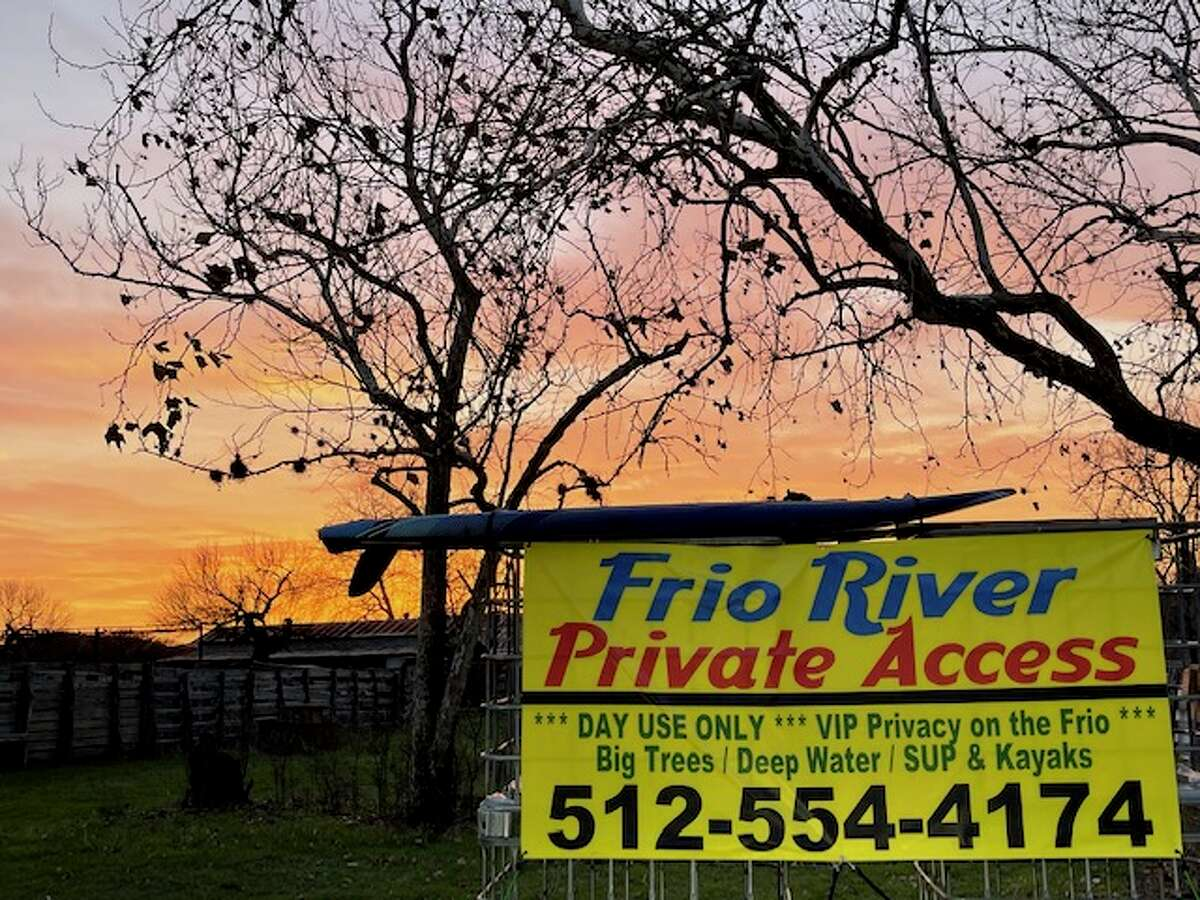 The Frio River Private Access is available now.