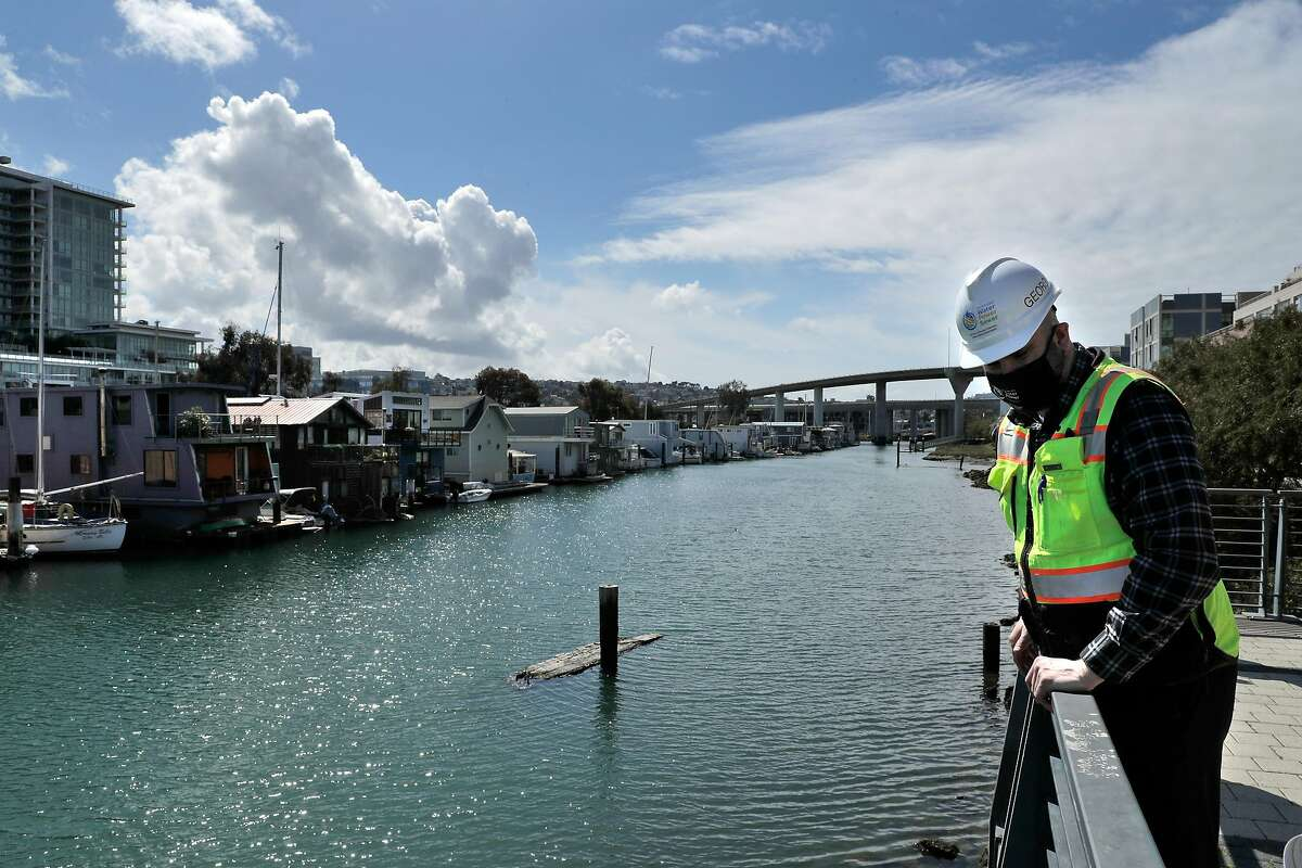 San Francisco's Mission Creek is one of several places in the region facing the consequences of rising sea levels.