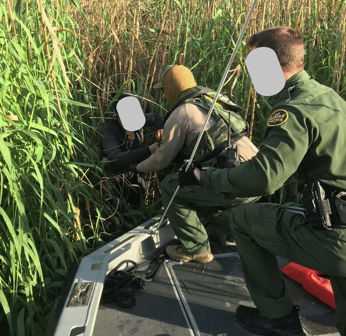 Laredo Sector Marine Unit agents rescued four individuals stranded on an island in the middle of the river. Over the weekend, agents rescued 20 people from Laredo's harsh conditions.