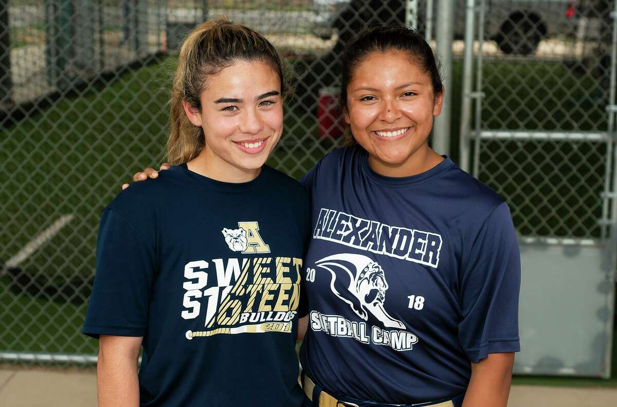 Amanda Leija and Krista Gamez have developed a strong bond playing together for more than seven years.