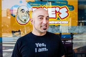 Ike Shehadeh of Ike's Love and Sandwiches.