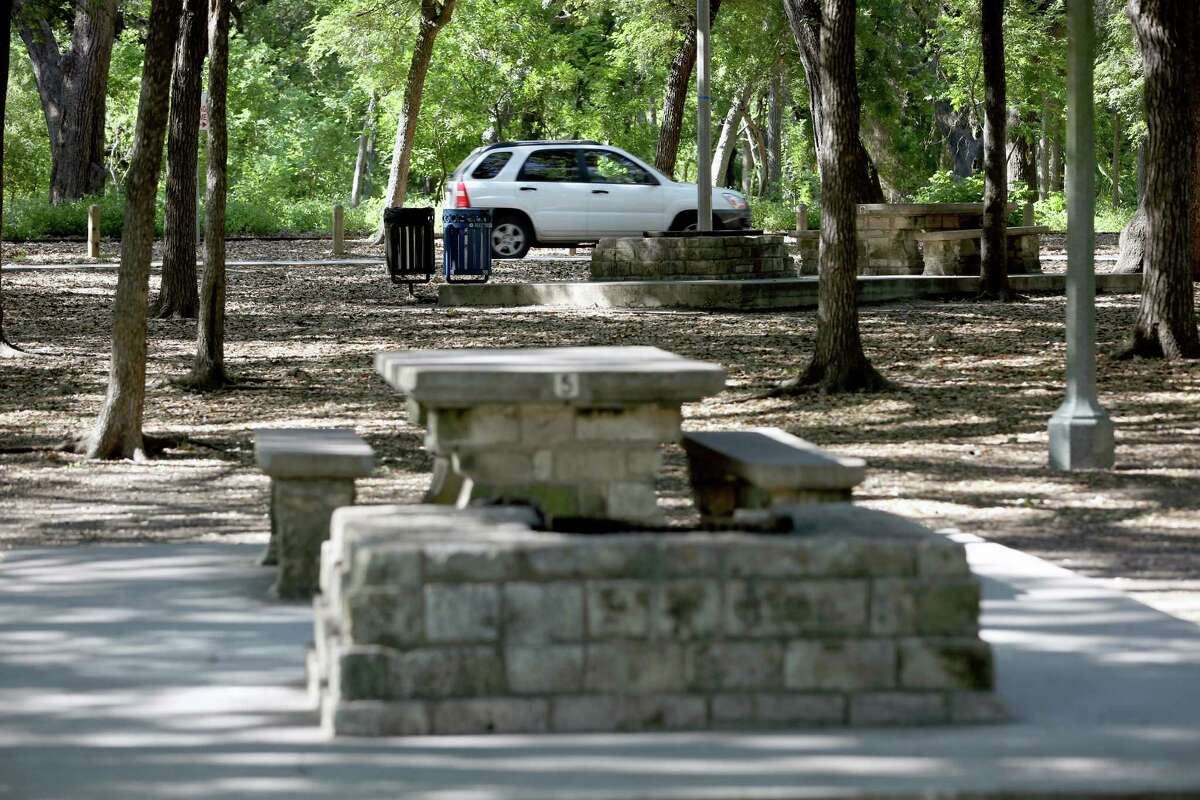 """San Antonio police have identified the man found """"in a pool of blood"""" at Brackenridge Park over the weekend but still don't know who is responsible. The park is shown in this file photo."""