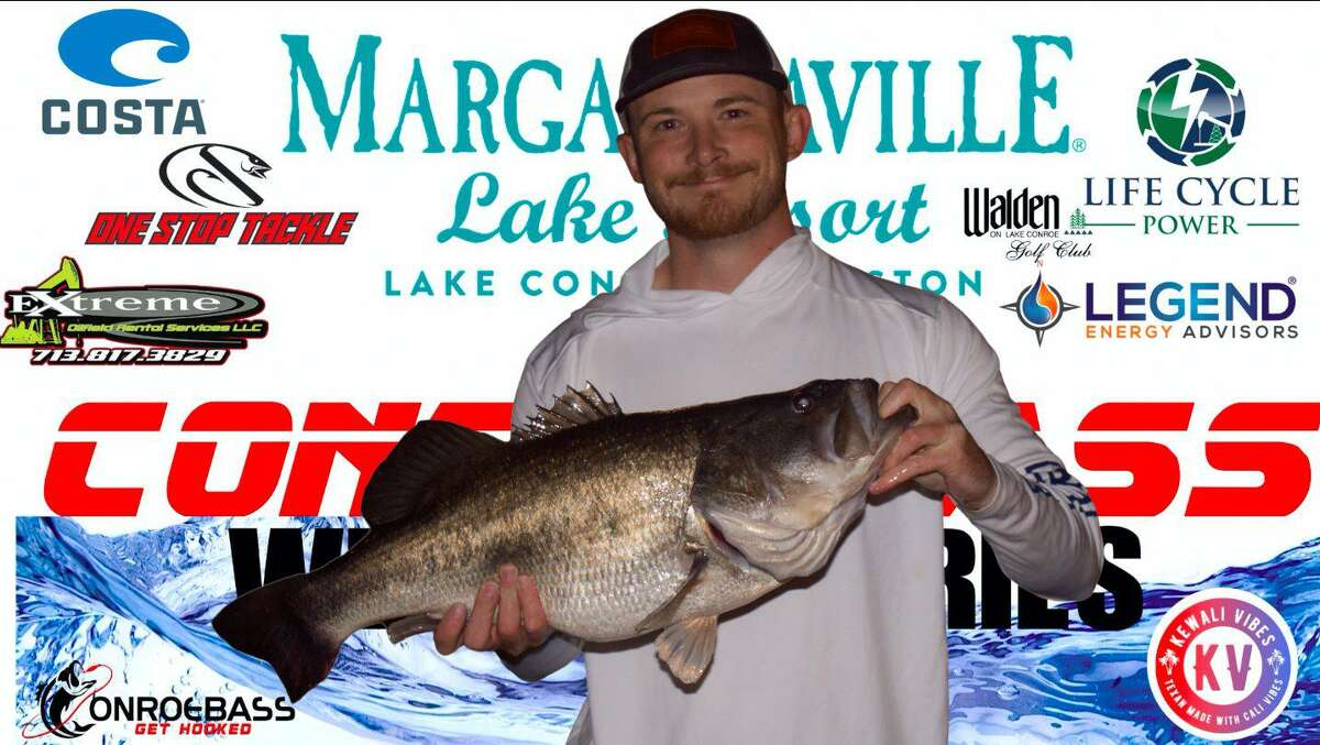 Kenneth Barnes came in first place in the CONROEBASS Thursday Big Bass Tournament with a weight of 10.07 pounds.