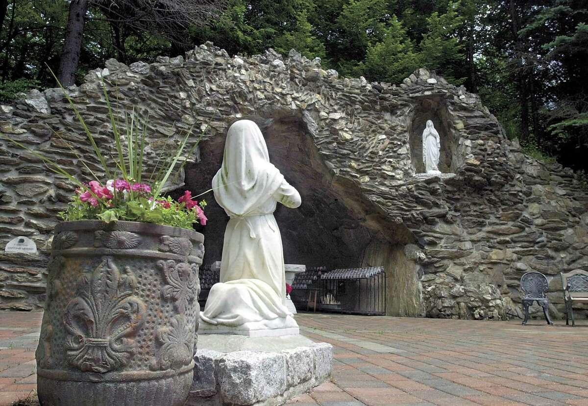 Shrine of Lourdes in Litchfield