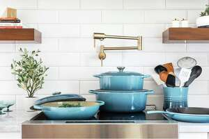 Buy three  Le Creuset products , save 20% during  Wayfair's Way Day Sale