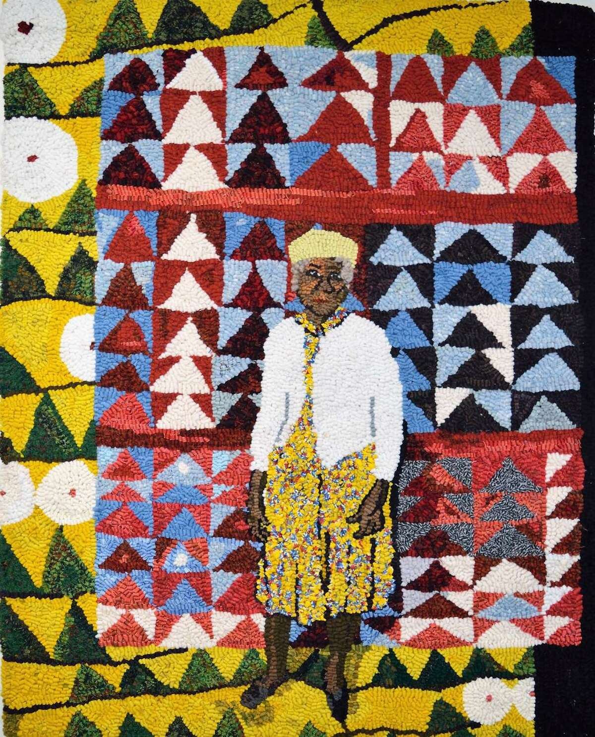 Mary Tooley Parker's Annie E. Pettway, Gee's Bend Quilter in Klimt