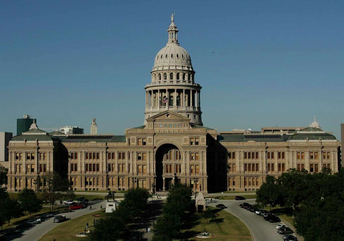 FILE - In this Jan. 8, 2007 file photo, the Texas Capitol is shown in Austin, Texas.