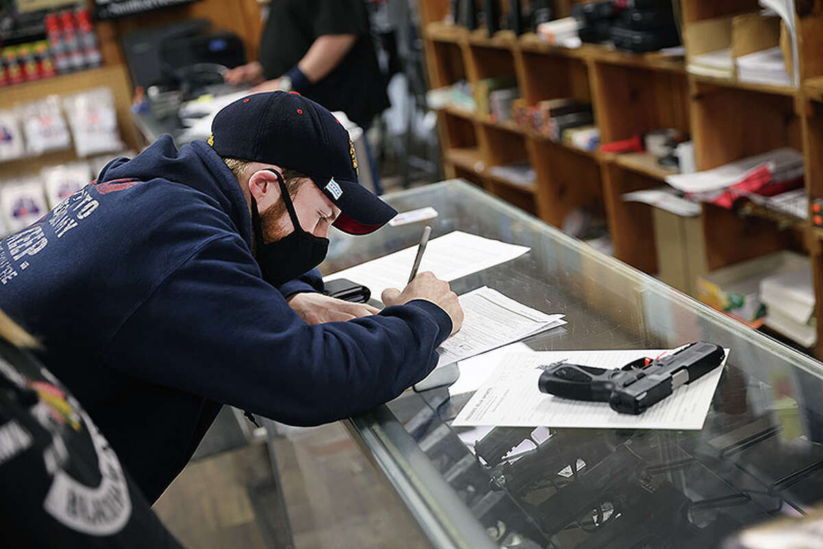 There were competing bills about firearms the legislature considered. One that passed the House would have made fingerprints for a FOID card mandatory. That measure did not get called for a vote in the Senate. The Senate amended HB562 and passed it to the House, where the House concurred with the bill.