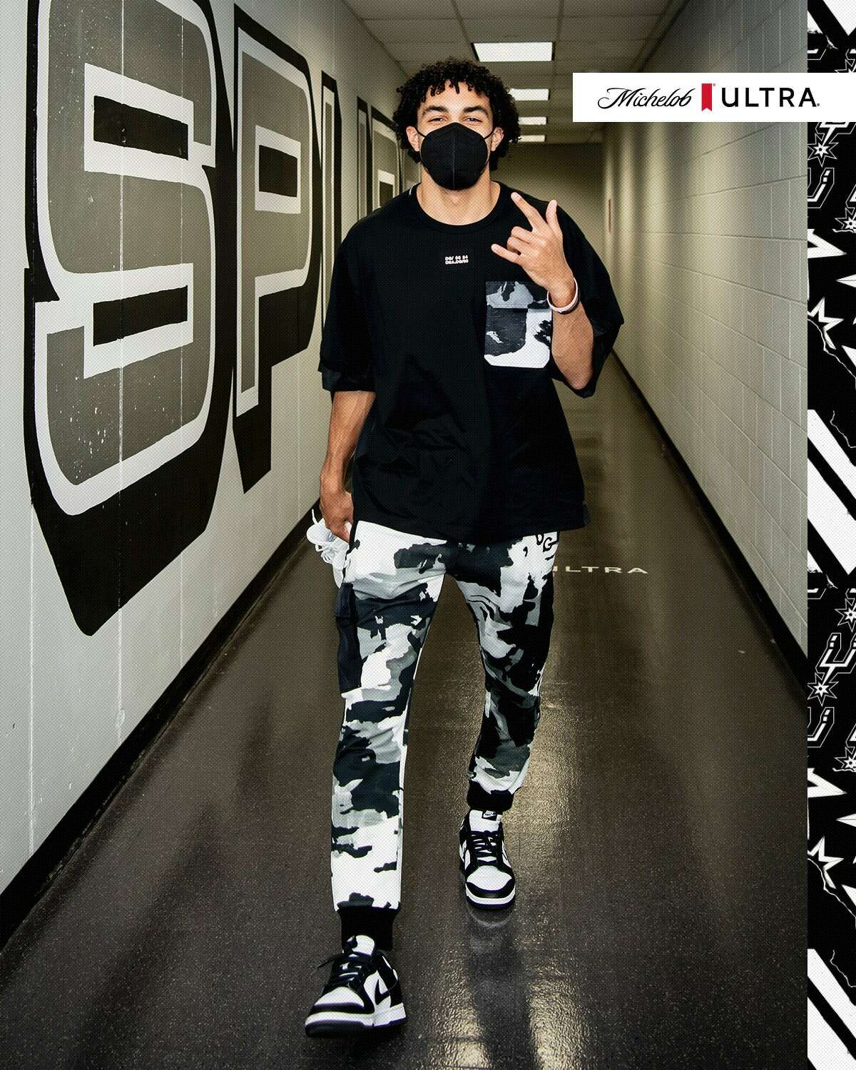 """Tre Jones is considered a """"#DGCeleb"""" (Instagram lingo for Dolce & Gabanna celebrity) with the likes of Lizzo, Halle Berry and Ozuna. The athlete was highlighted across the brand's social media accounts on Tuesday for his arena entrance fashion ahead of the April 22 game against the Detroit Pistons."""