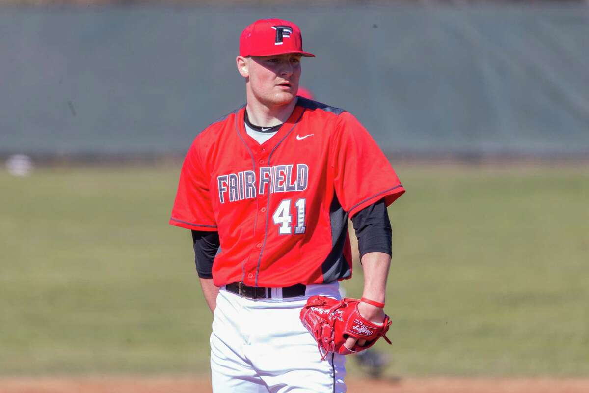 Fairfield pitcher Jake Noviello. The right-handed junior is tied for the 14th best in the country with a 1.64 ERA.