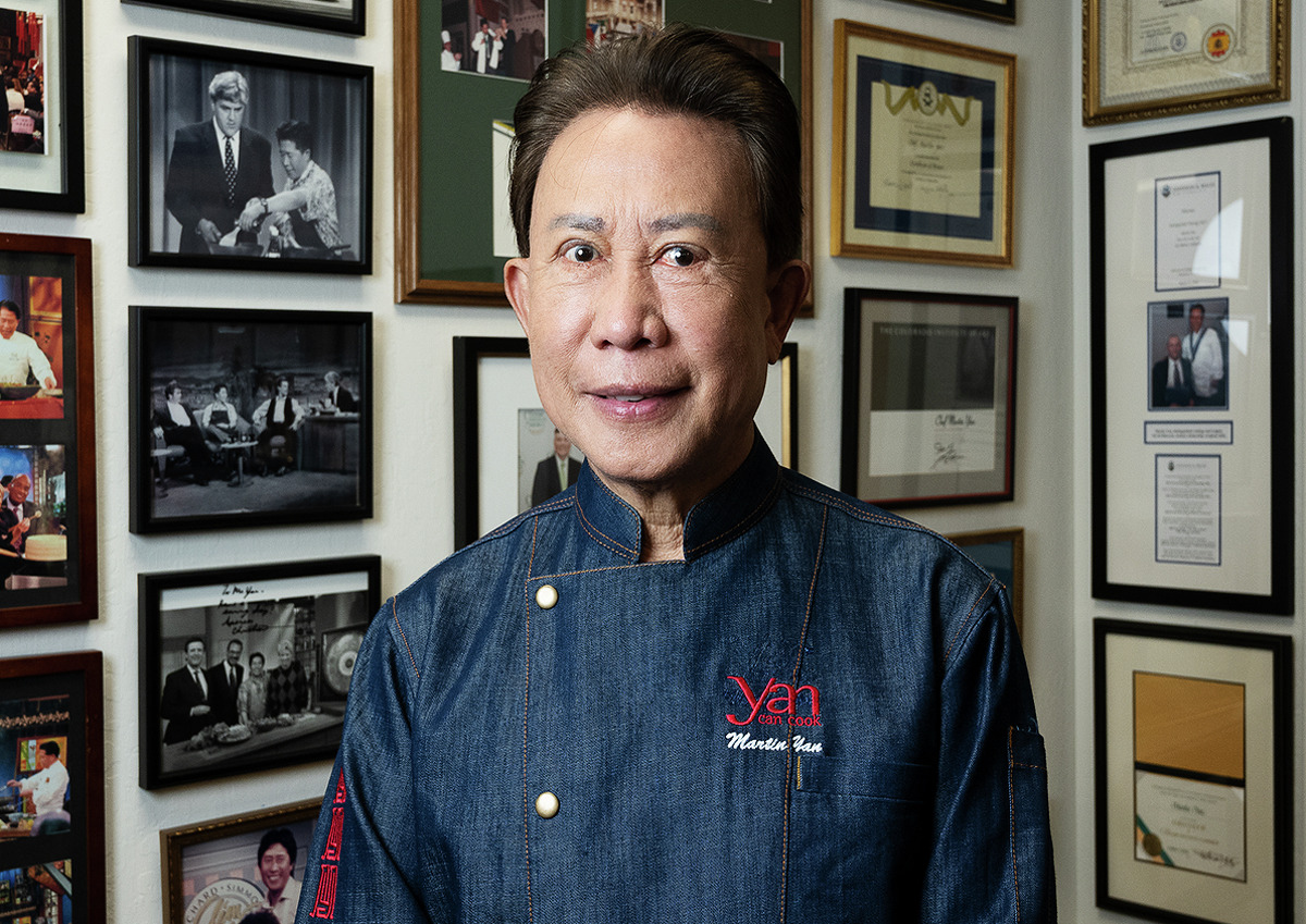 Chef Martin Yan's career launched with a cooking show in Canada in 1978 that later became