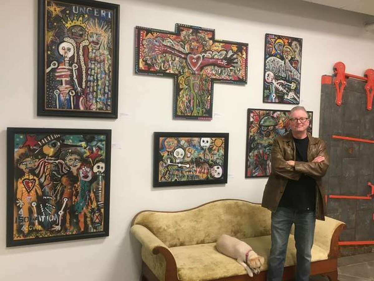 Art by Dr. Andy Dykeman is now being exhibited at 31art Gallery, 3520 Hampton Ave., St. Louis.