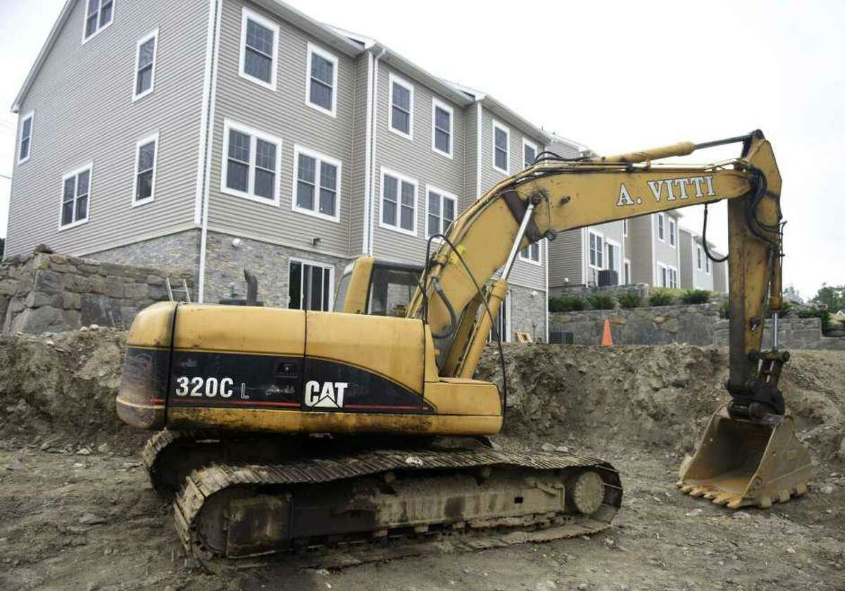 Work at Armstrong Court in Greenwich created new affordable townhouse units, part of an initiative to increase affordable housing in the community.
