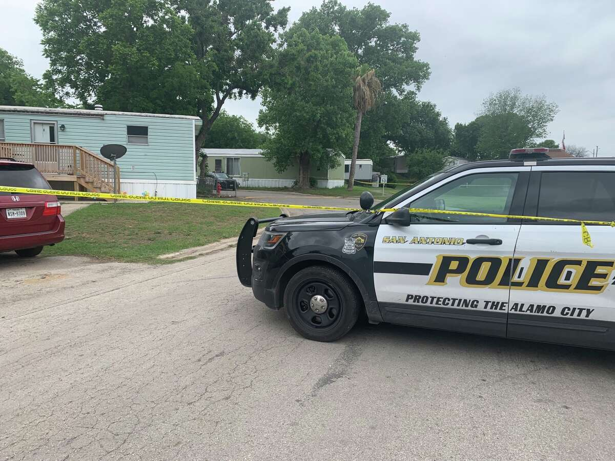 San Antonio police are searching the residence of D'Lanny Reaneille Chairez, the woman accused of tampering with evidence in connection with her missing 18-month-old son.