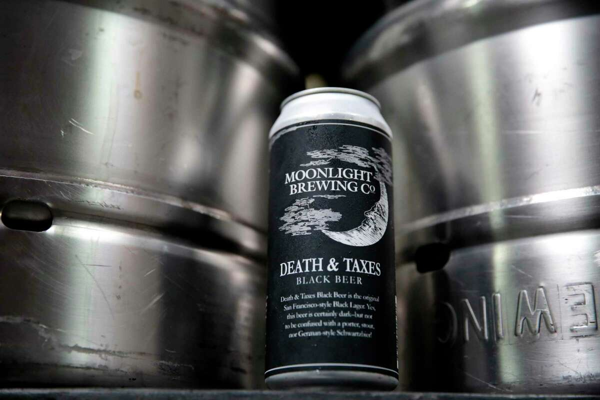 Death & Taxes, a black lager, is the flagship beer at Moonlight Brewing in Santa Rosa.