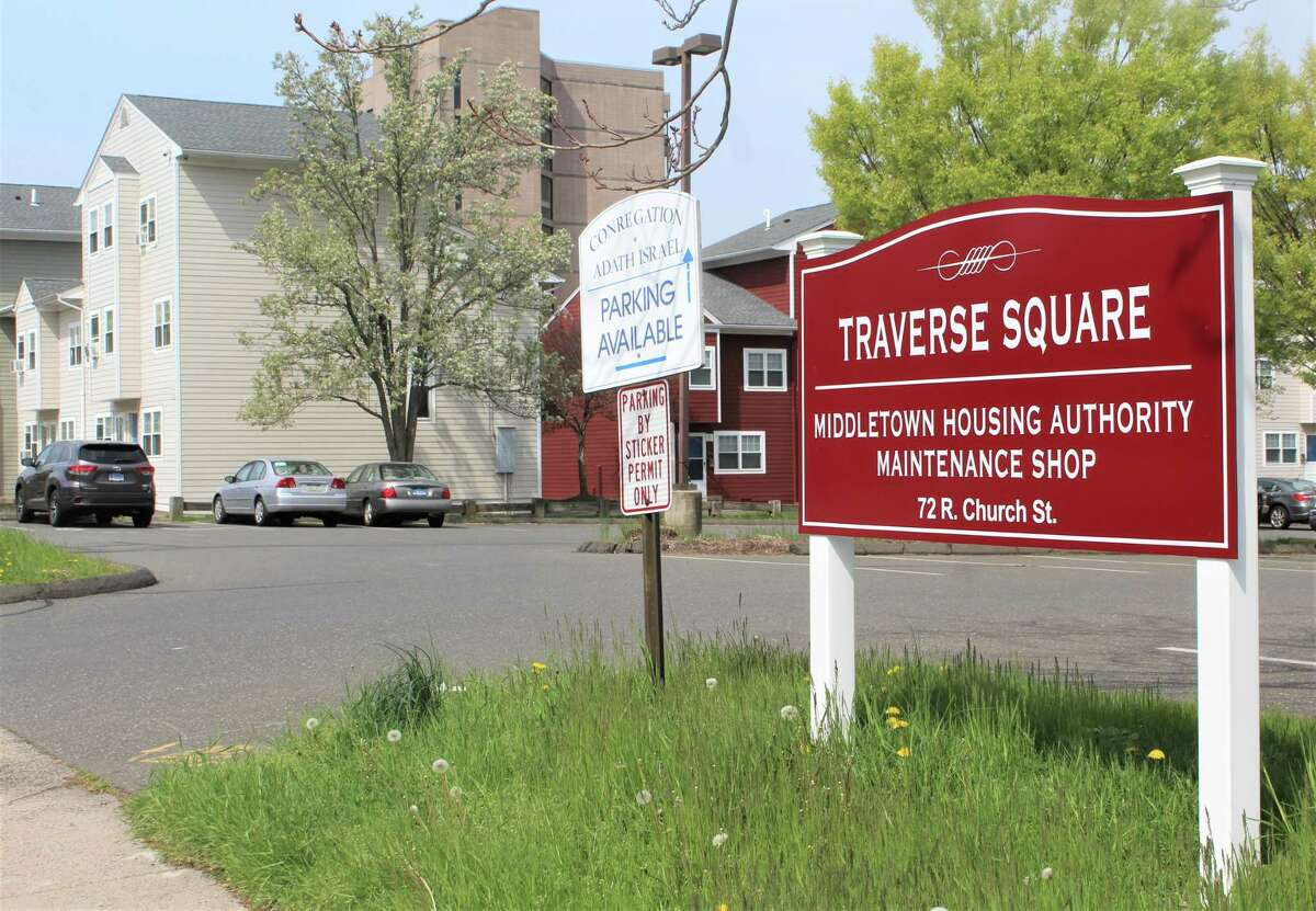 The Traverse Square apartment complex is located off William Street in Middletown.