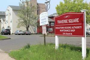 There were two shootings this spring at the Traverse Square public housing complex. City leaders and recreation staff have begun visiting residents there on a regular basis to keep children occupied, and away from potential trouble, Mayor Ben Florsheim said.