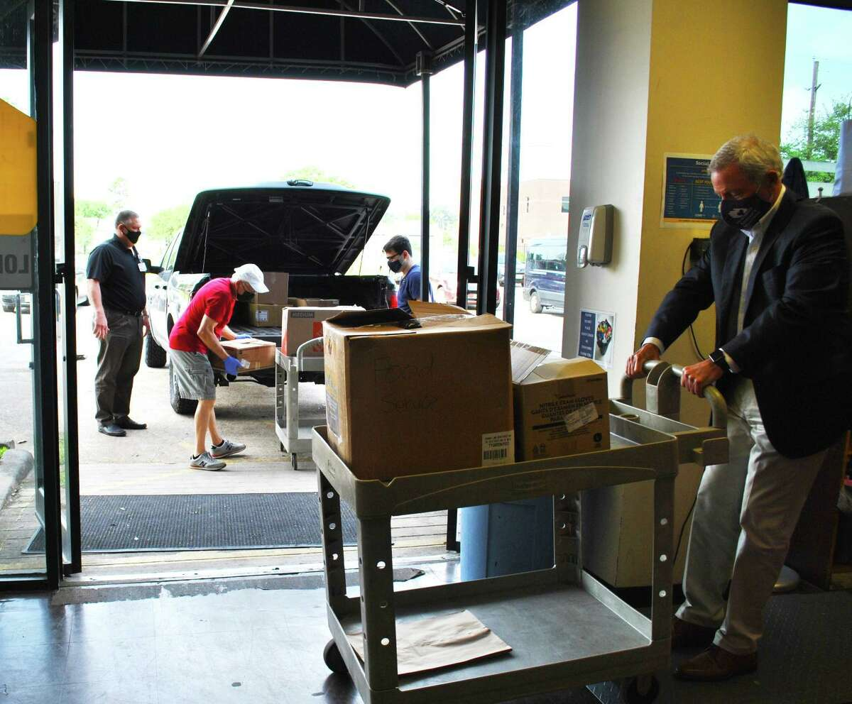 Northwest Assistance Ministries received a large donation of food from Houston Methodist.