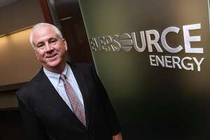 New Eversource Energy CEO Joseph Nolan is photographed at the company's corporate office in Hartford on April 12.