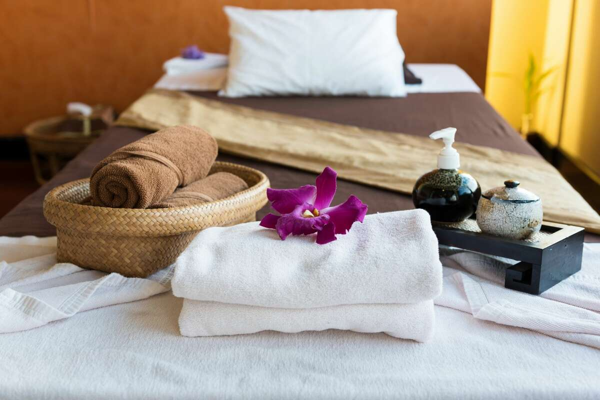 Spa complementary package.