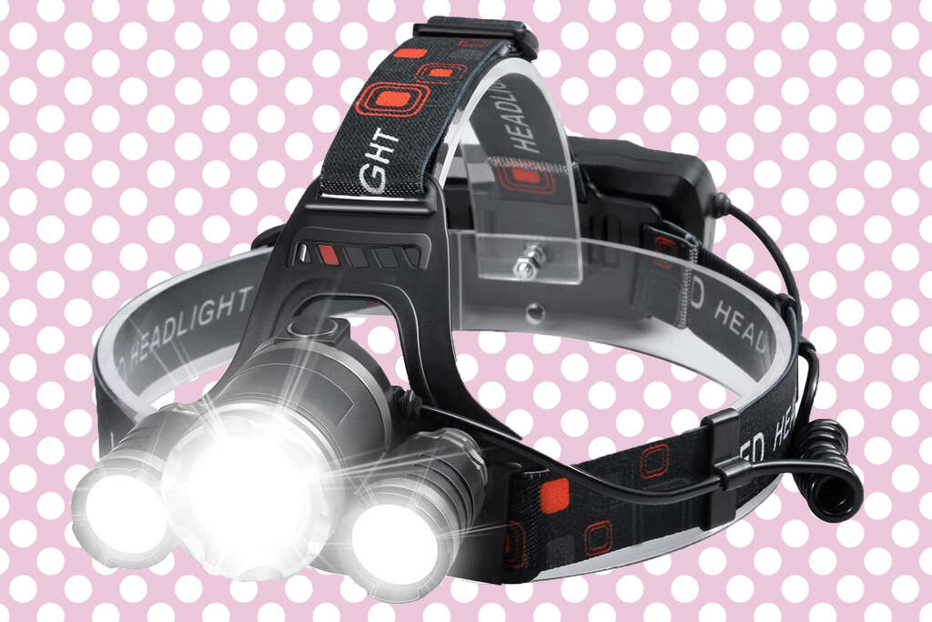 Beterlight rechargeable headlamp for $12 at Amazon with promo code HQ4H8UV3