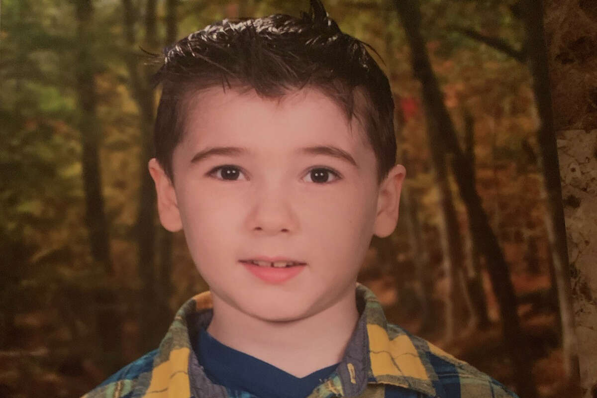 """Connor White, 7, who died in a fire on Fourth Street in Troy on Sunday (April 25). The family described Connor, who had been diagnosed with autism spectrum disorder, as the """"light of our family."""""""