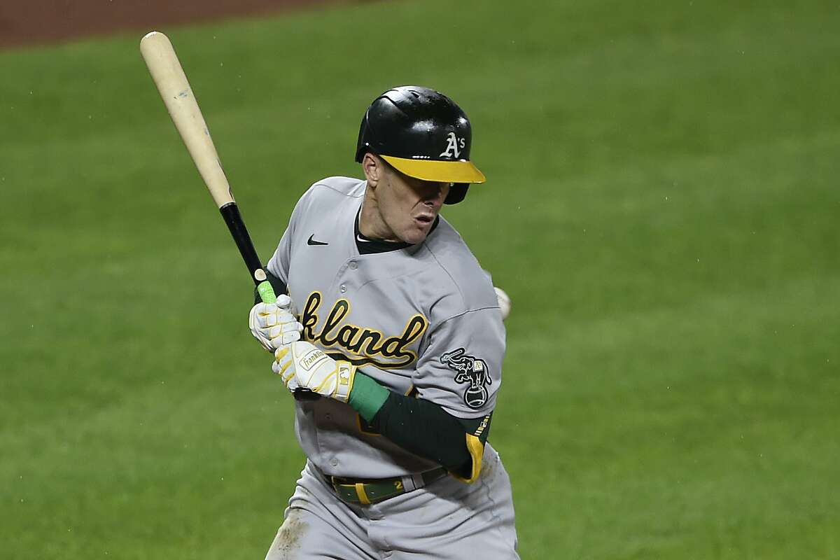Mark Canha has been hit by a pitch 59 times in his career, matching Sal Bando for most in Oakland A's history.