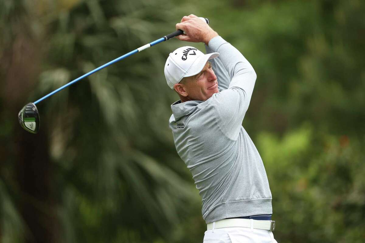 Jim Furyk played on the regular PGA Tour two weeks ago at the RBC Heritage event in Hilton Head, S.C.