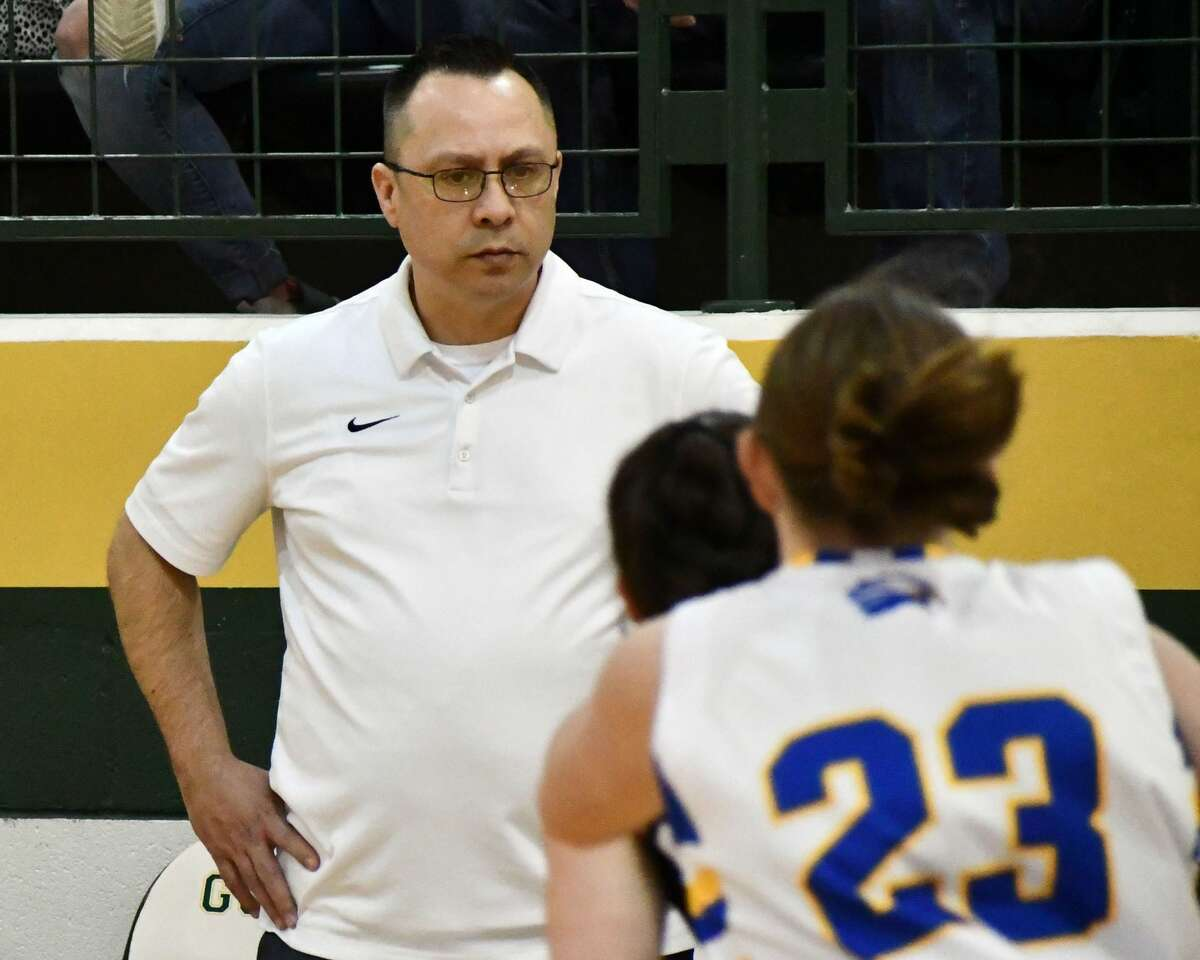 Plainview Christian Academy's Jeff Gonzales was named the Dean Weese Outstanding Coach Award winner by the TABC.