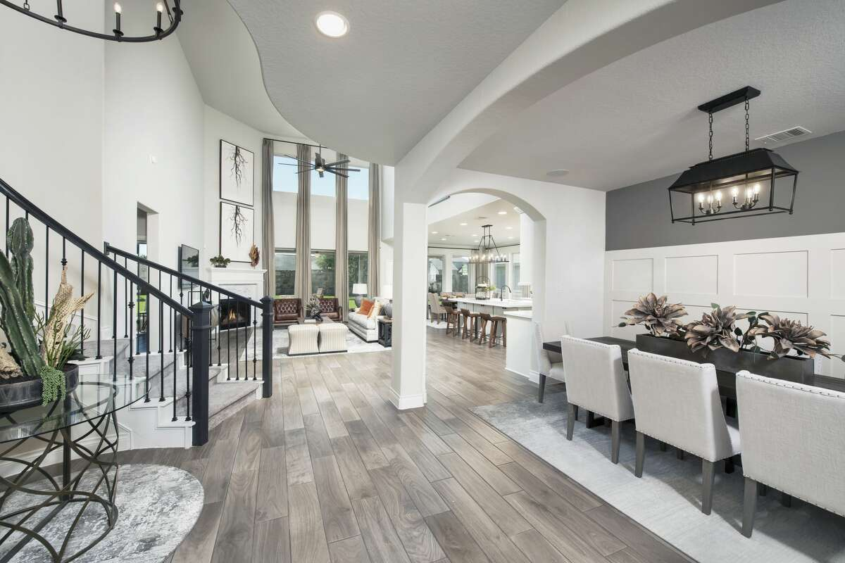 Perry Homes Model Home in Kallison Ranch