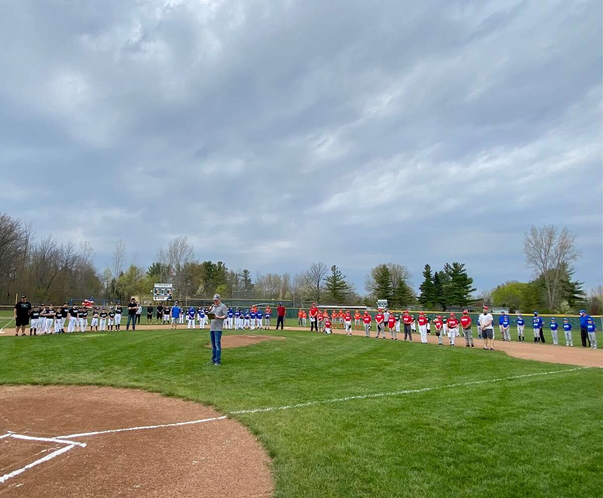 Fraternal Northwest Little League held opening ceremonies for its 2021 season on Tuesday, April 27.