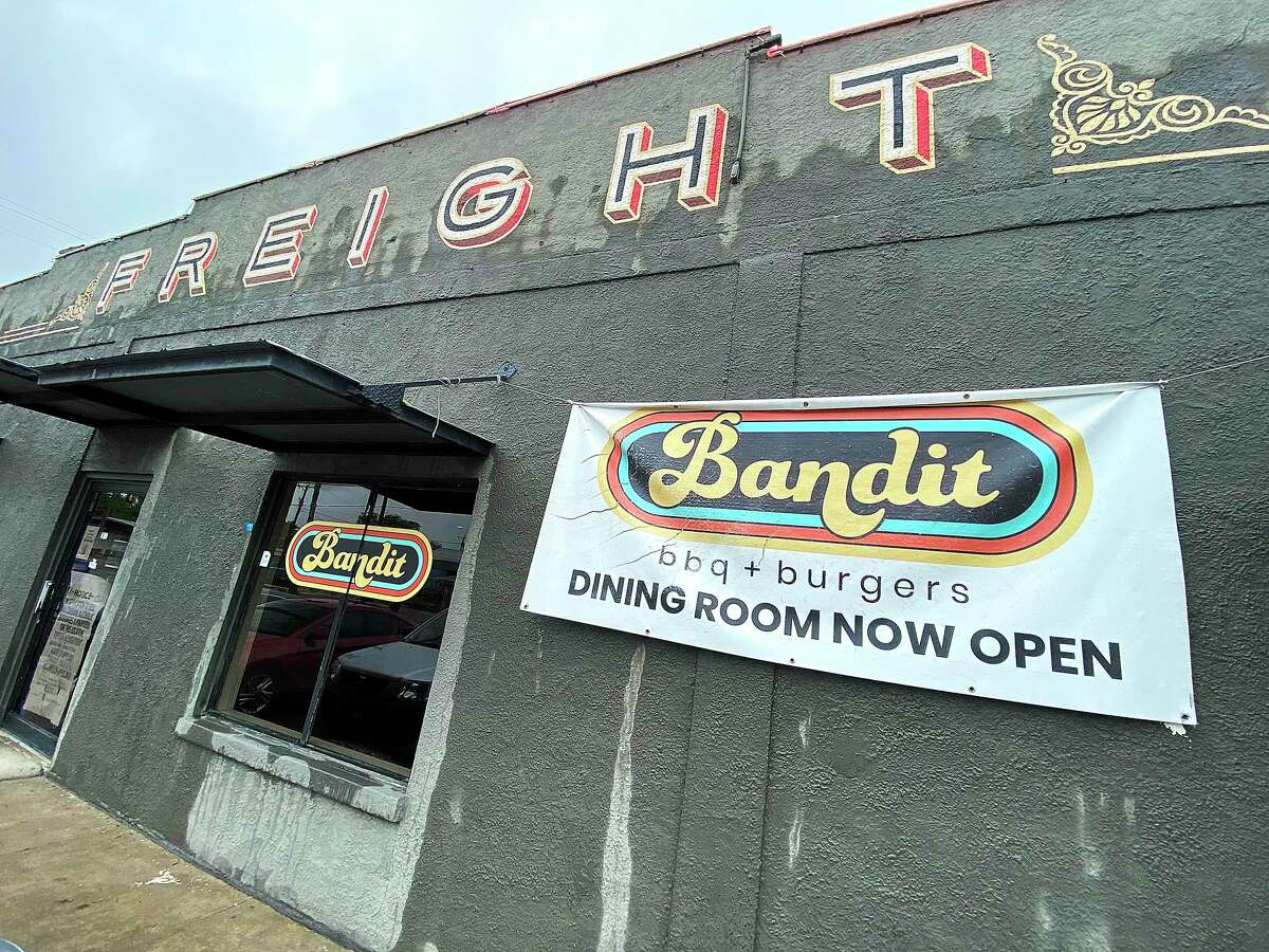 Bandit BBQ at Freight Gallery makes one of the city's best hot dogs.