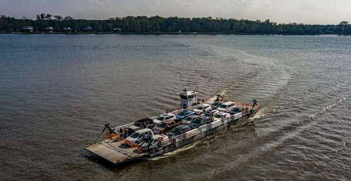 The Grafton Ferry, operated by the Calhoun Ferry Company, will resume service at 10 a.m. Friday. Use of the ferry cuts travel time between Missouri and Illinois by about 30 minutes, and people can get out of their vehicles during the river crossings.
