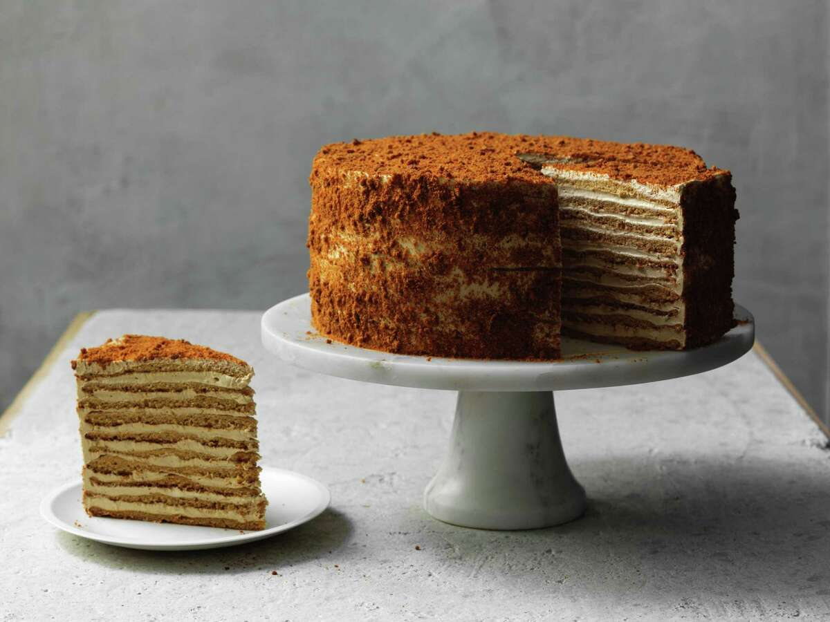 20th Century Cafe's famed Russian honey cake has admirers all over the country.