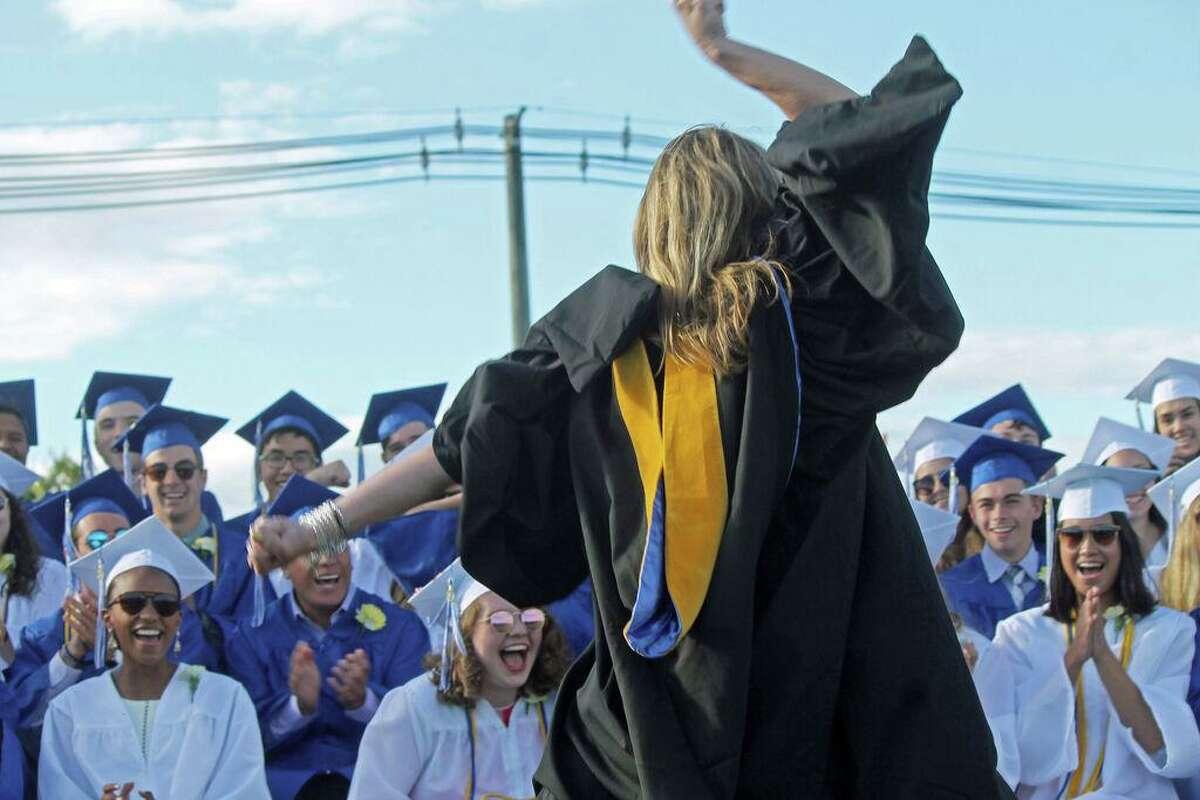 File photo Old Saybrook High School graduation.
