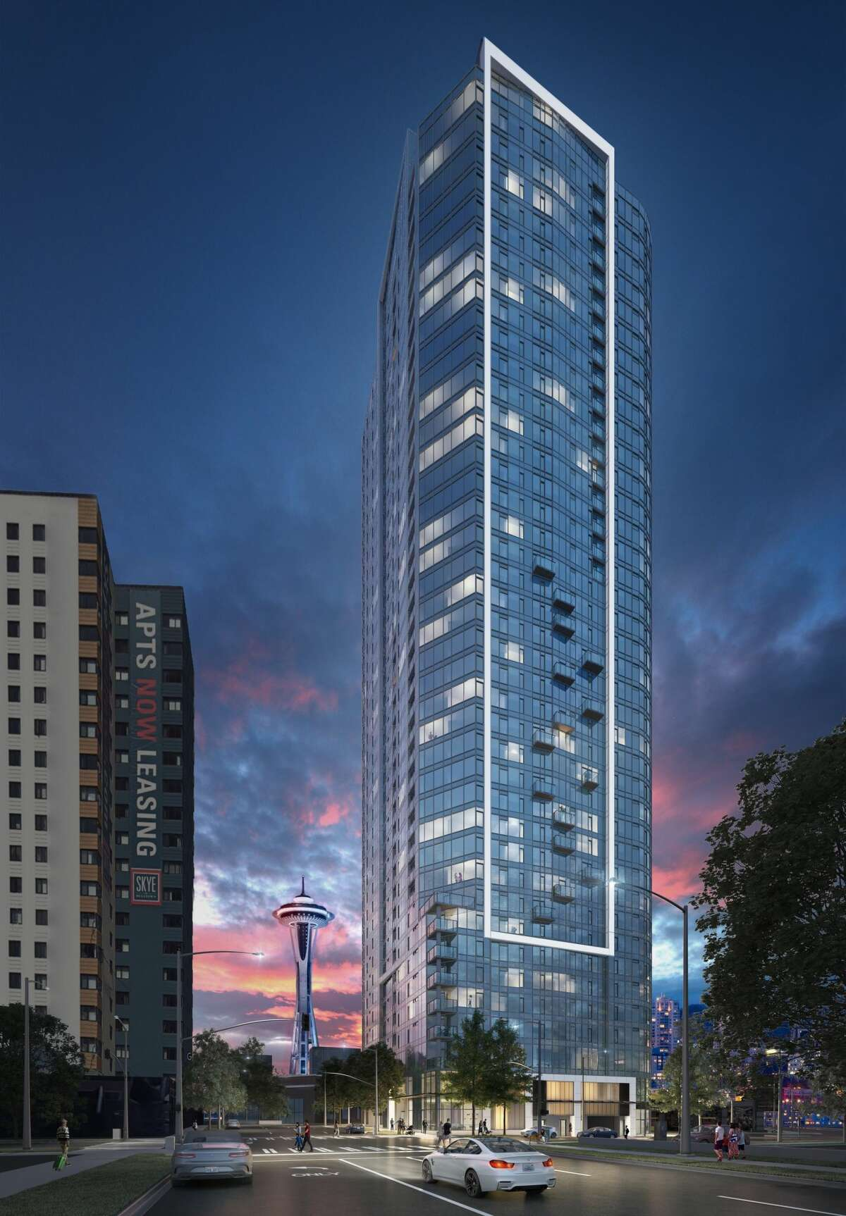 The Spire Tower, which stands resplendent in Seattle's downtown, has reduced prices to lure buyers - and it's working.