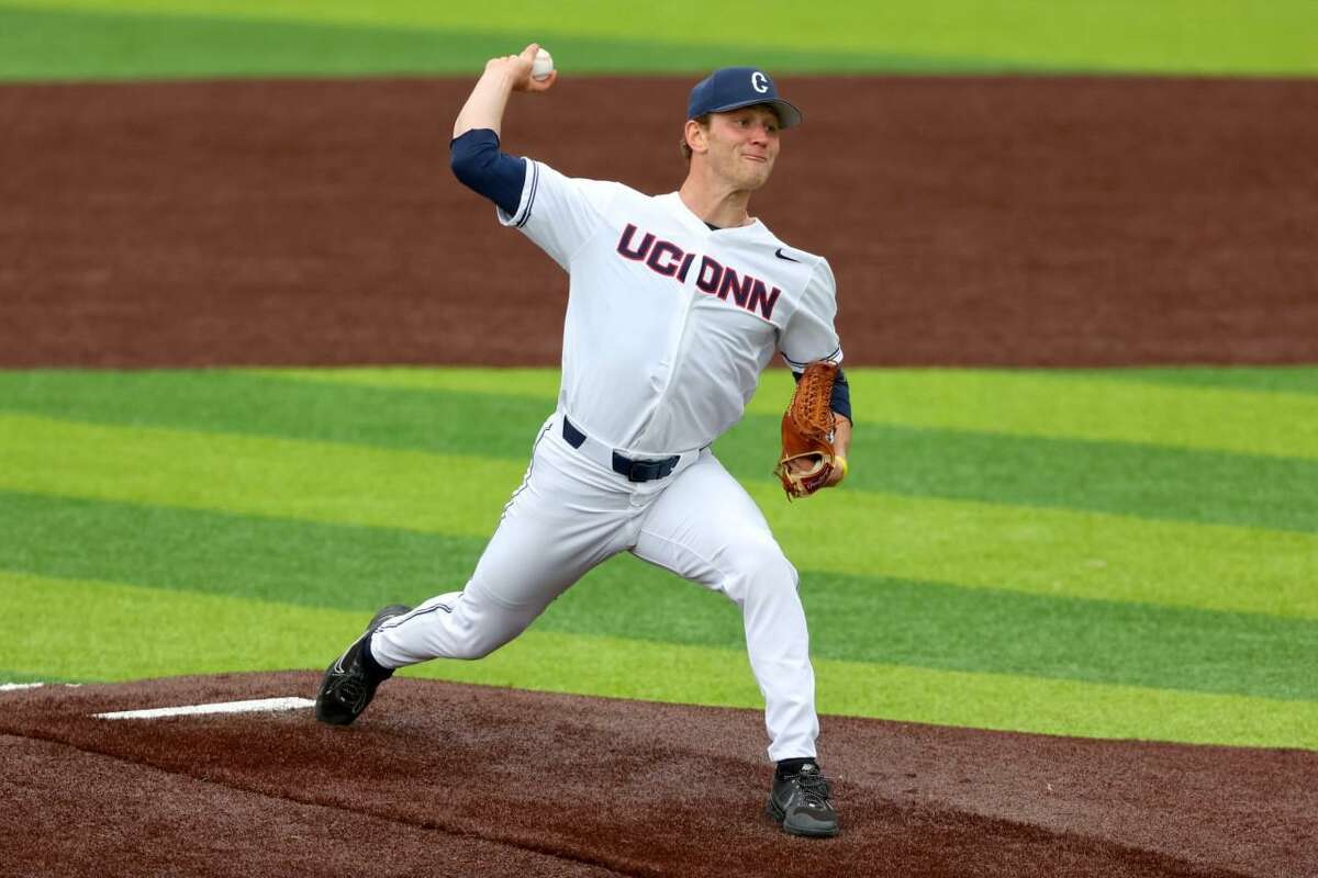 Westport's Ben Casparius ranks among the NCAA's leaders in strikeouts as a junior at UConn.