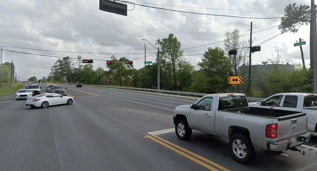 The intersection of FM 2920 and Dowdell Road in Tomball as of March 2020.