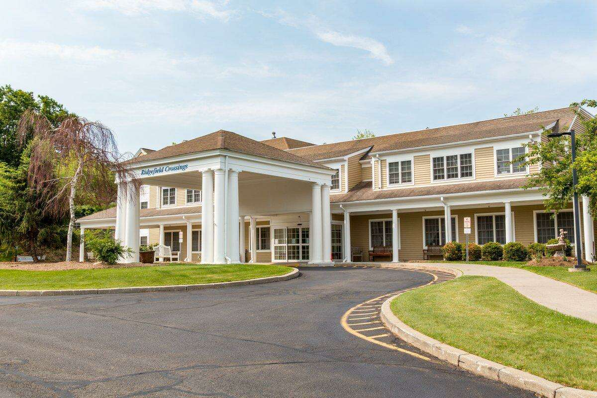 The Benchmark Senior Living facility at Ridgefield Crossings is at 640 Danbury Road in Ridgefield.