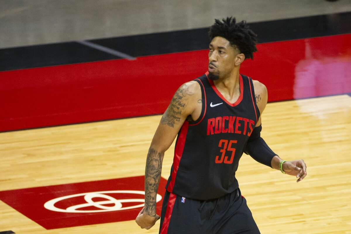 Christian Wood was a revelation in his first Rockets season and will be a central figure in their rebuilding efforts.
