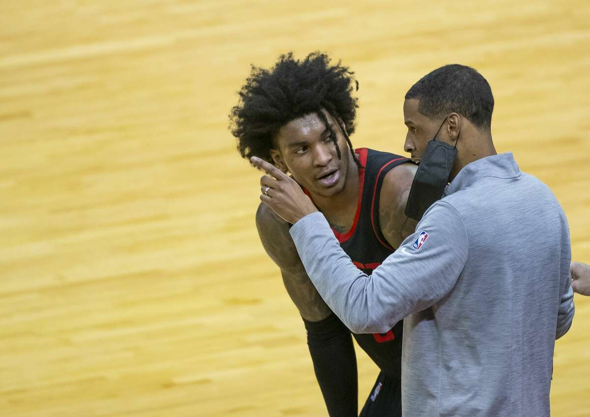 Rockets coach Stephen Silas didn't mince words when it came to Kevin Porter Jr.'s comments about the role the organization played in resurrecting his career last season.