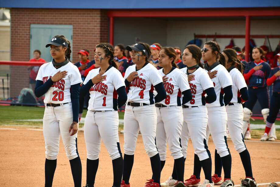 Plainview hosted Lubbock Monterey in a Class 5A bi-district softball playoff game on Thursday at Lady Bulldog Park. It was the first playoff game for the Lady Bulldogs since 2015. Photo: Nathan Giese/Planview Herald