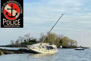 The Greenwich Police Marine Unit came to the assistance of a stranded boat earlier in the week.