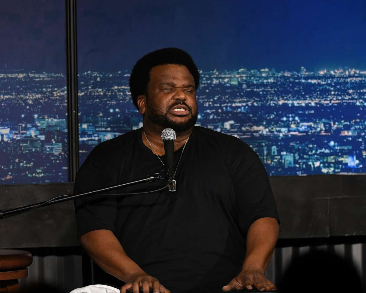 Comedian Craig Robinson to perform at Houston's Improv this weekend. (Photo by Michael S. Schwartz/Getty Images)