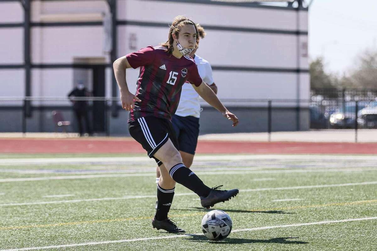 Pearland's Warren Russo is one of several local athletes honored on the all-District 23-6A boys' soccer team.