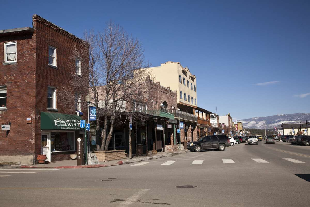 Downtown Truckee, Calif.